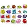 锆石、玻璃、尖晶、刚玉、玛瑙、松石等批发产品